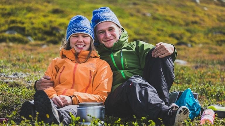 Johanna Eklöf och Emil Börner ska cykla jorden runt. Foto: Emil Börner