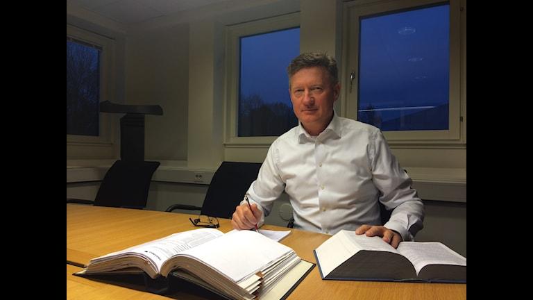 Bertil Wingqvist, advokat och konkursförvaltare för Lättings