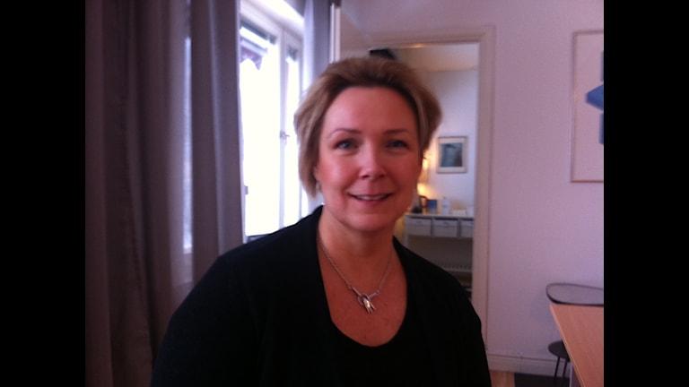 Marjo Carlson coachar och utbildar ledare. Foto: Larry Forsberg