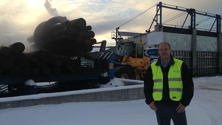 Plyfa i Hassela investerar 13 miljoner för att öka produktionen och höja kvaliteten Fredrik Lenz vd.