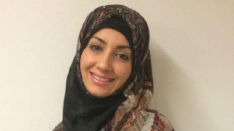 Doktor Hala Qatanani valde Gävle sjukhus som sin arbetsplats efter sina läkarstudier. Foto: Privat
