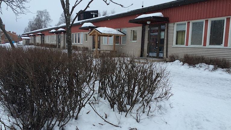 Celsiusskolans låg- och mellanstadiedel är i behov av upprustning. Foto: Agneta Sundberg/Sveriges Radio