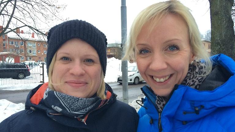 Emma Lindberg och Annelie Oderstad