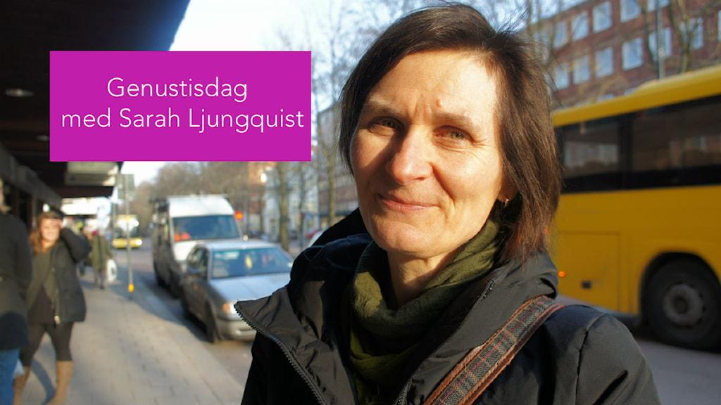 Sarah Ljungquist. Foto: Sveriges Radio