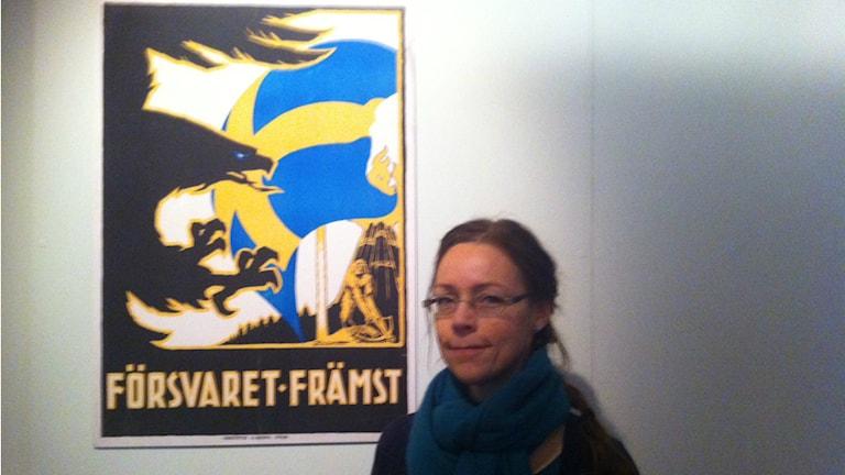 Ingela Jönsson. Foto: Larry Forsberg/Sveriges Radio