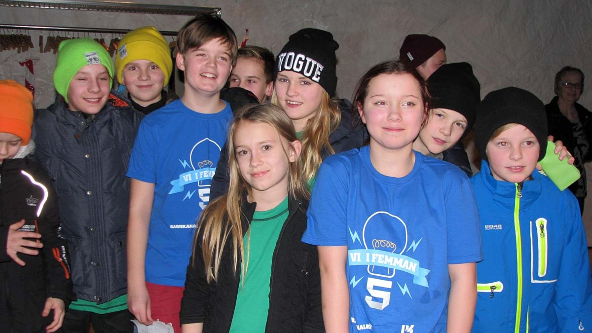 Sörängs skola klass 5A tog hem segern i den första semifinalen. Foto: Ingegerd Engvall/Sveriges Radio