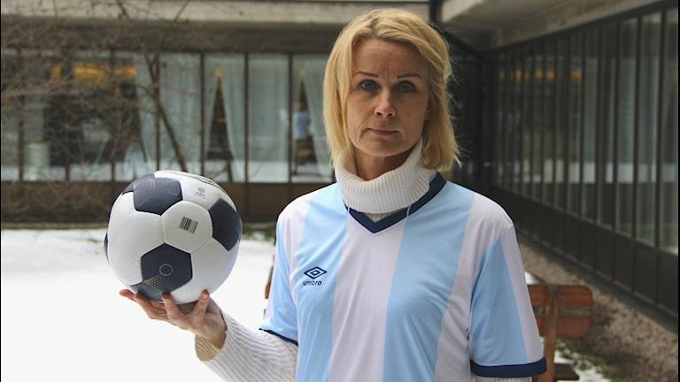 Klubbdirektör Eva von Schéele-Frid.