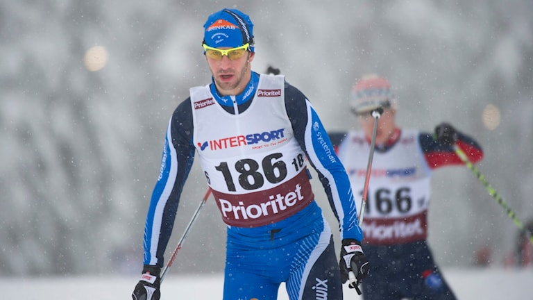 Anders Södergren tog SM-brons. Foto: Fredrik Sandberg / TT
