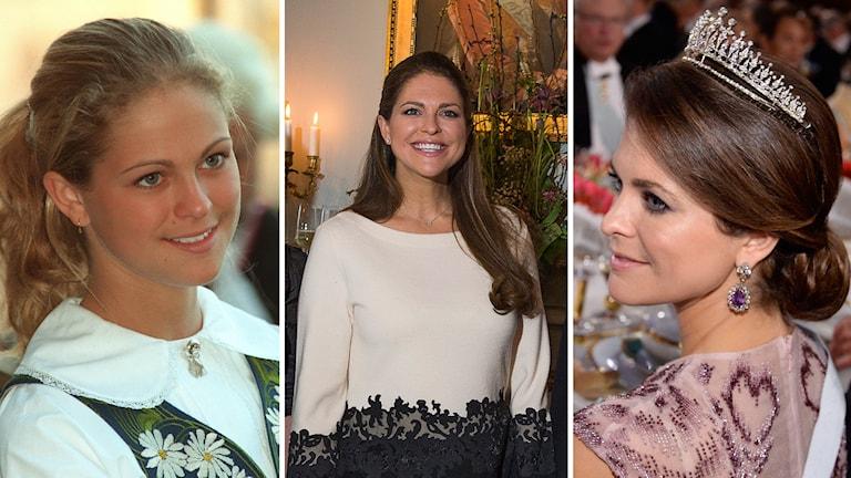 Vad kan du om prinsessan Madeleine? Gör vårt quiz och ta reda på det. Foto: Jan Collsiöö, Claudio Brasciani och Jonas Ekströmer/TT.