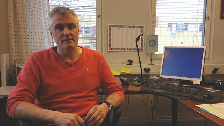 Göran Eriksson är produktionschef för Posten Gävle Nord.