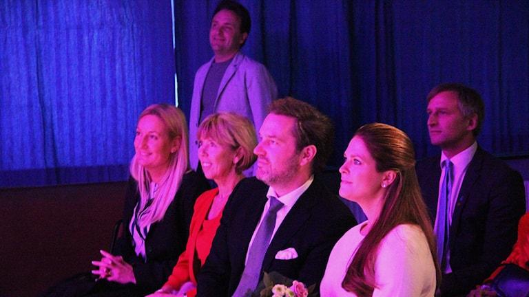 Prinsessan Madeleine och Chris O'Neill på besök i Gävle och fritidsgården Helges.