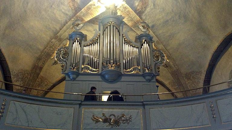 Orgel Ljusdals kyrka