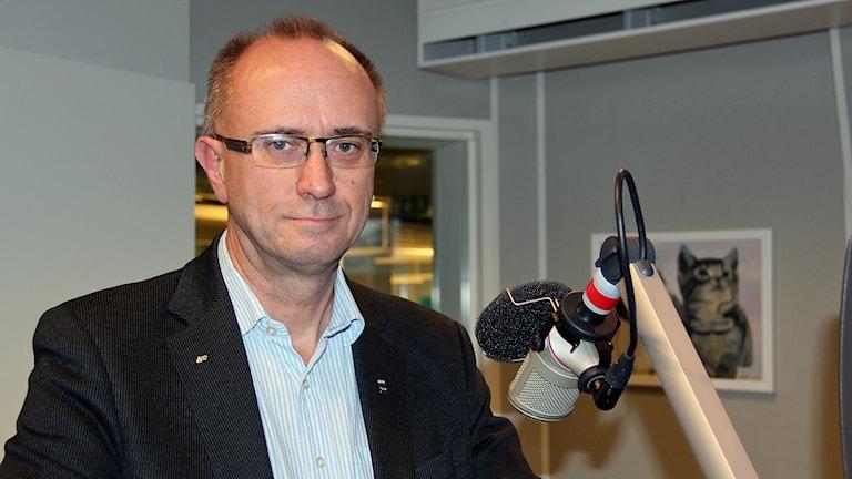 Mats Collin, socialchef i Gävle kommun. Foto: Linnea Johansson/Sveriges Radio.