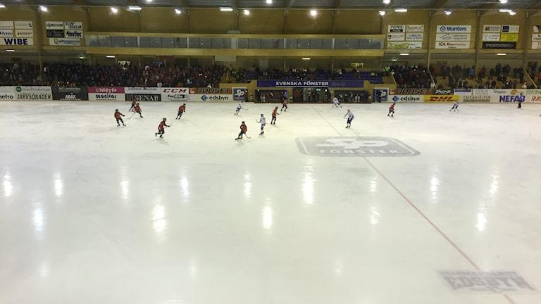 Edsbyn förlorade den första kvartsfinalen mot Villa Lidköping.