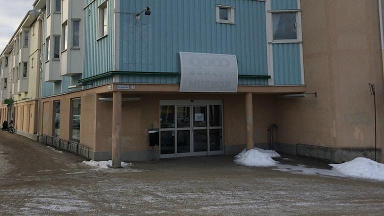 Det är här i den gamla Konsum-lokalen två företagare från Sandviken vill starta en ny mataffär i Ockelbo.