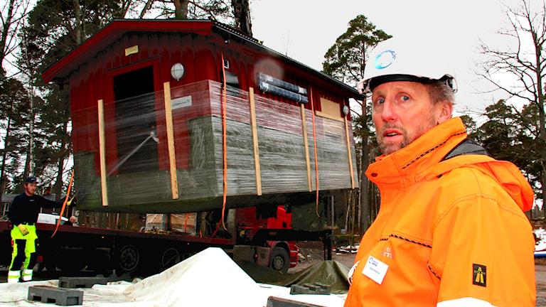 Stefan Hedström, projektledare för Gästrike Vatten. Foto: Emma Tranevik/Sveriges Radio