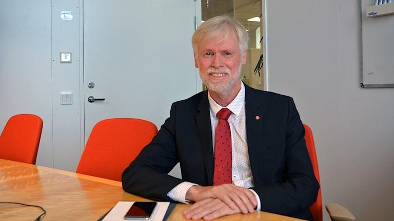 Tommy Berger (S) är regionråd för hälso- och sjukvårdsfrågor.