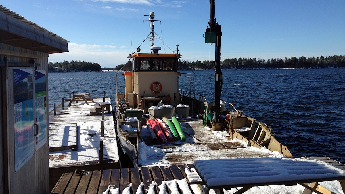 Haverirapporten är nu klar efter Remmarens oförklarliga grundstötning utanför Gråhäll i Söderhamns skärgård. Men fortfarande är gåtan om vad som gick snett med GPS-tekniken olöst. Foto: privat