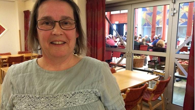 Karin Jansson (MP) ordförande i hållbarhetsnämnden. Foto: Agneta Sundberg/Sveriges Radio