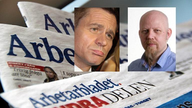 Rickard Olsson och Daniel Nordström. Foto: Sveriges Radio