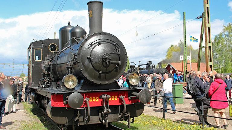 När Järnvägsmuseet fyllde 100 år var publiktillströmningen extra stor.