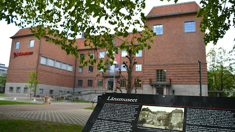 Länsmuséet Gävleborg. Foto: Micaela Toresson/Sveriges Radio