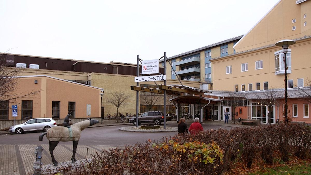 Hudiksvalls Sjukhus. Foto: P4 Gävleborg