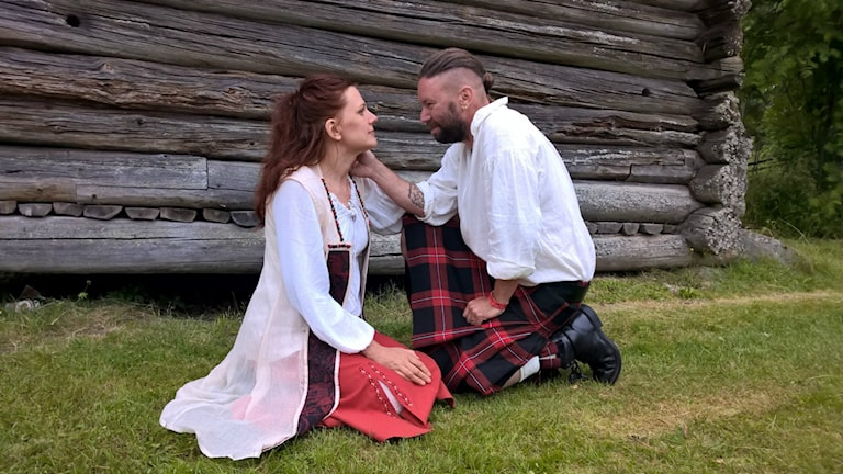 Mikael Öst och hans fru Chatarina Öst Wilkens. Foto: Privat.