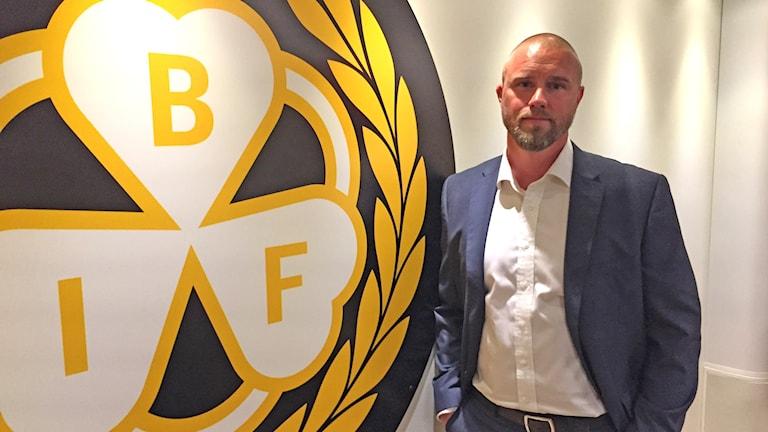 Johan Stark ny klubbdirektör i Brynäs IF. Foto Sveriges Radio.