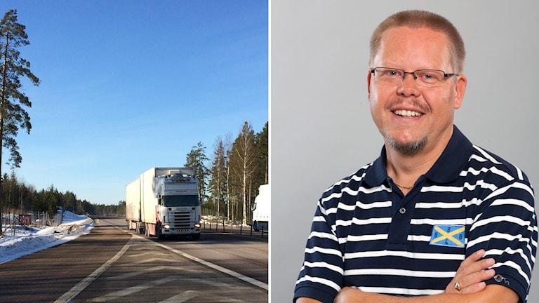 Patrik Magnusson på Sveriges åkeriföretag region mitt tycker att det behövs ett förtydligande i förordningen då den är felformulerad.