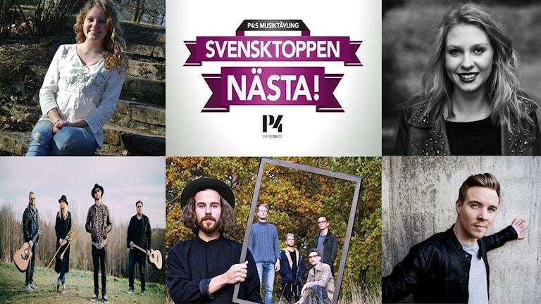 Svensktoppen nästa final 2015.