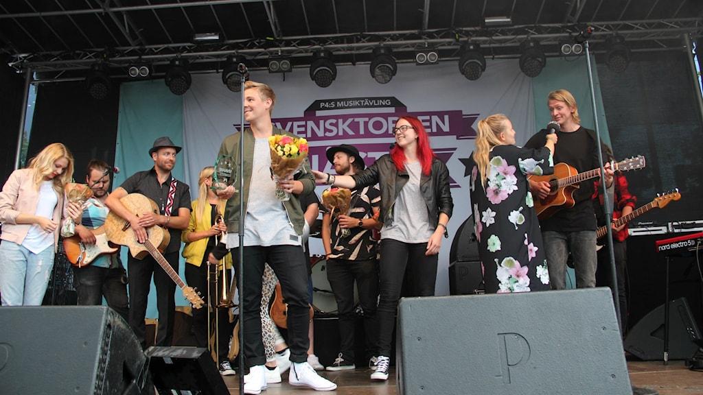 Henrik Lundholm vann Svensktoppen nästa 2015 i Gävleborg. Foto: Fredrik Björkman/Sveriges Radio