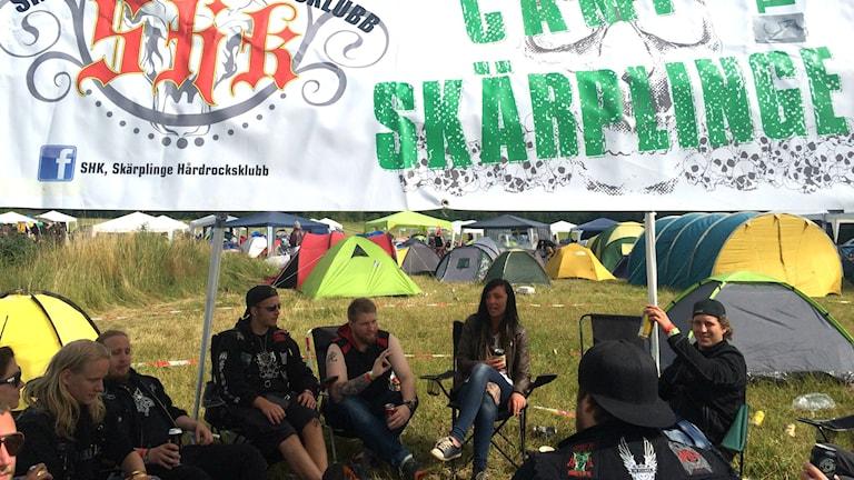 Getaway Rock Festival. Foto: Cassandra Alm/Sveriges Radio