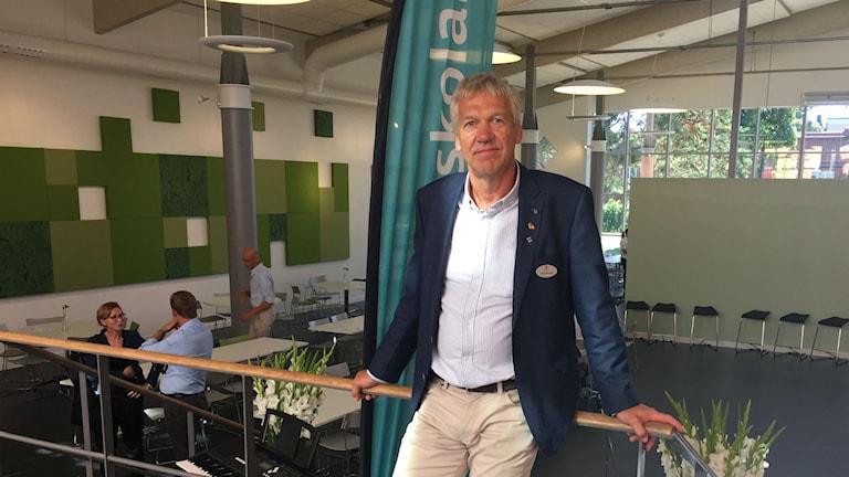 Vallbacksskolan Ulf Sjulander rektor