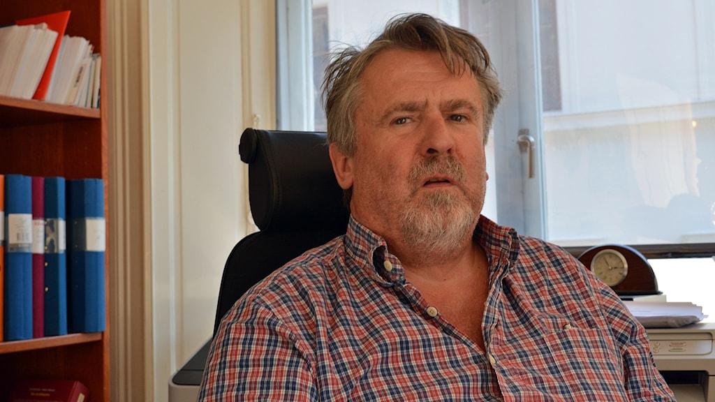 Tryggve Emstedt advokat. Foto: Tomas Groop/Sveriges Radio