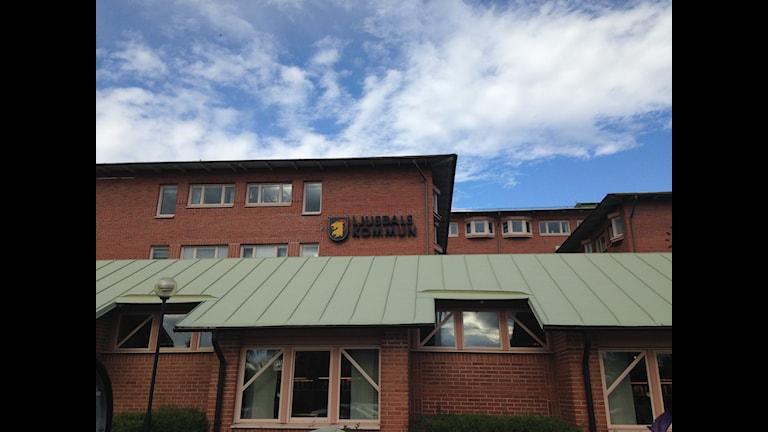 Kommunhuset i Ljusdal.