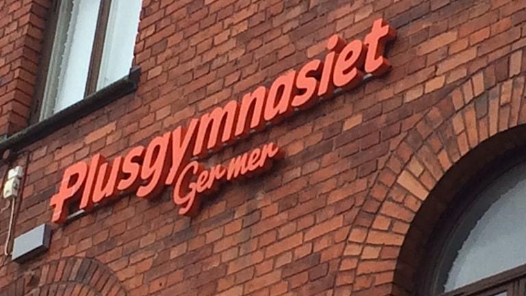 Plusgymnasiet i Gävle. Foto: Jenny Sanner Roosqvist