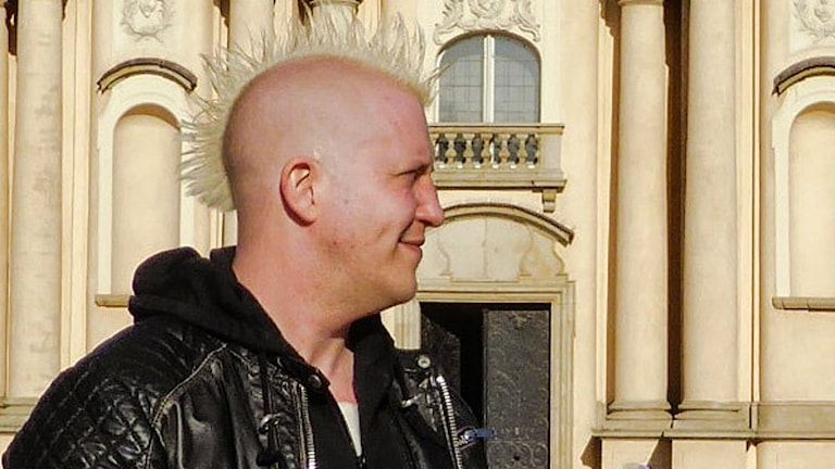 Doktor Martin Salzmann-Erikson, monsterforskare. Foto: Maria Salzmann