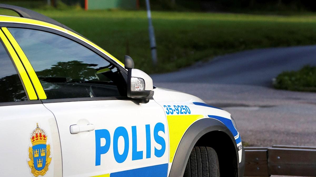 Mannen som skadats svårt av en kvinna i Sandviken, ska efter omständigheterna må väl. Utredning pågår. Foto: Christine Olsson/TT.