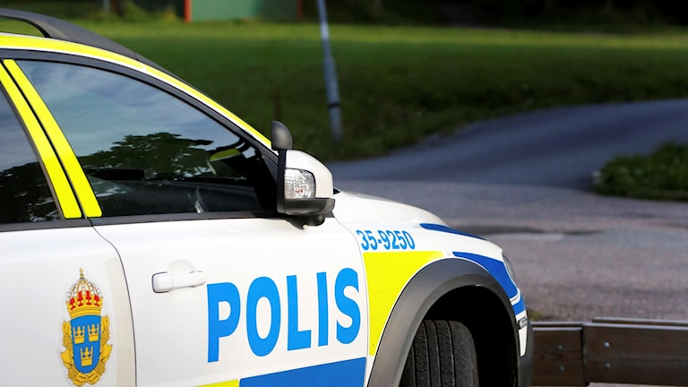 Polisbil. Foto: Christine Olsson/TT.