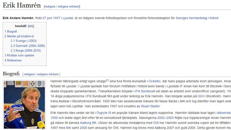 Någon har redan avsatt förbundskaptenen Erik Hamrén.
