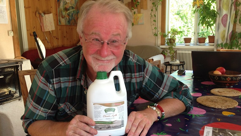 Peter Jonazon vill att dellenbönder satsar på ett minimejeri för lokal mjölk.