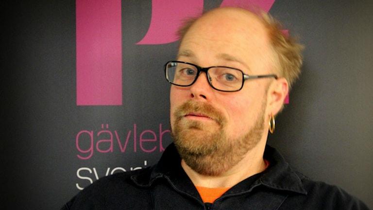 Niklas Folkegård är P4 Gävleborgs krönikör. Martin Svensson / Sveriges Radio