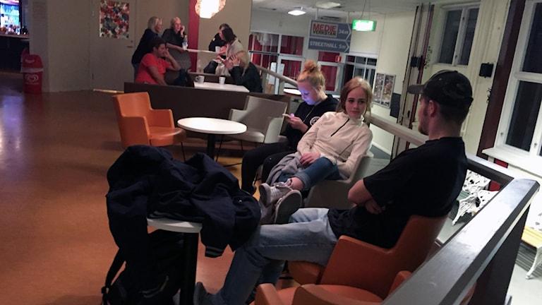 """Ungdomsgården """"Verkstäderna"""" i Söderhamn. Foto: Christian Ploog / Sveriges Radio"""