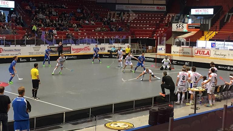Gävle GIK har haft det tufft den här säsongen. Foto: Christian Ploog/Sveriges Radio