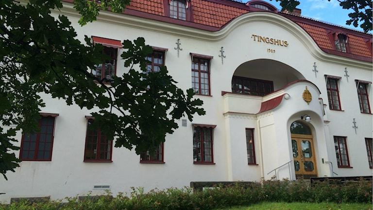 Hudiksvalls Tingsrätt. Foto: Agneta Sundberg/Sveriges Radio