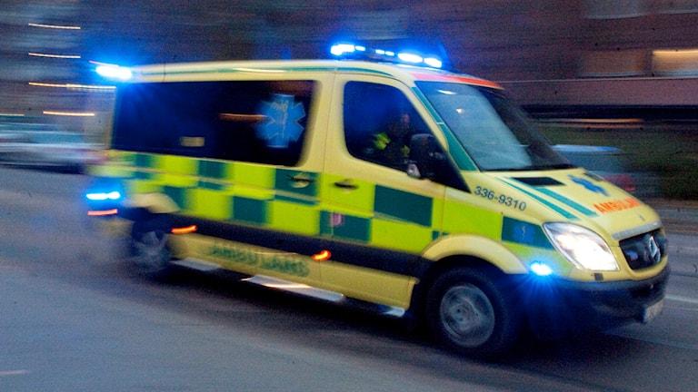 Ambulans. Foto: Bertil Ericsson/TT.