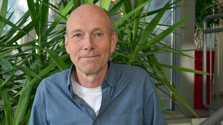 Länsstyrelsens integrationssamordnare Robert Larsson välkomnar Regeringens initiativ. Foto: Tomas Groop/ Sveriges Radio