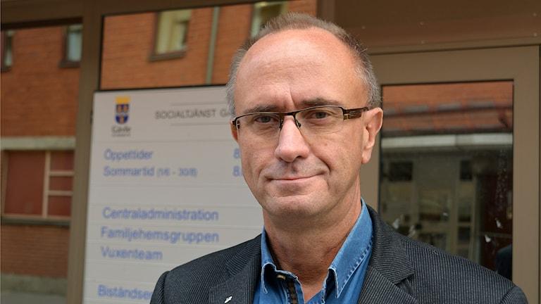 Gävles socialchef Mats Collin. Foto: Tomas Groop/ Sveriges Radio