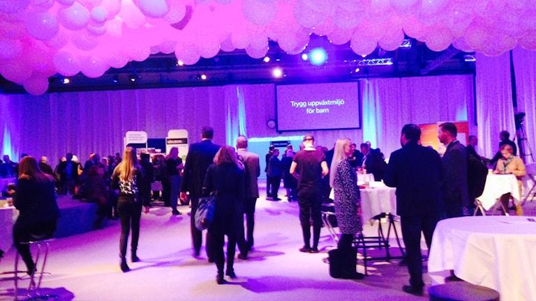 Regionens framtid diskuteras i Söderhamn. Foto: Martin Svensson/Sveriges Radio
